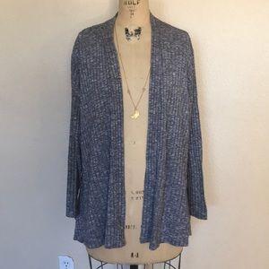 Avenue Plus Size Open Front Cardigan 22/24